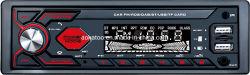1DIN パイオニア USB インターフェイスカーマルチメディア Bluetooth CD DVD オーディオ モバイルアプリのリモコンを使用します