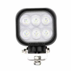 E-MARK ECE R10 、 12 V 24 V 40 W 50 W 60 W クリー認定 Osram 車の自動オフロードのトラクターの正方形の円形の洪水点の運転 LED 作業灯