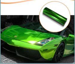 الهواء فقاعة مرآة مجانية كروم Mertallic Effect السيارات لفنيل
