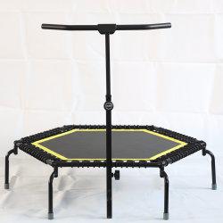 42'' 50'' 55'' six pans Professional Jumping Fitness cordons élastiques en caoutchouc Gymnastic salle de fitness équipement sportif Bungee Mini trampoline