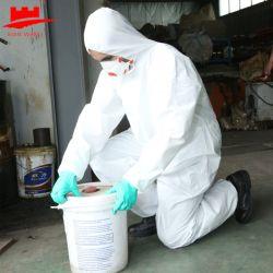 Epi descartáveis tipo microporosa de protecção 5 /6 de Segurança EN14126 Cat3 Padrão Europeu casaco