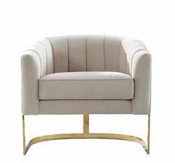 Espuma Cómodo acolchado interior clásico Sofá de Tela de lujo