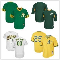 Oakland-Athletik-Markierung Mcgwire der Männer kühler niedriger Baseball Jersey