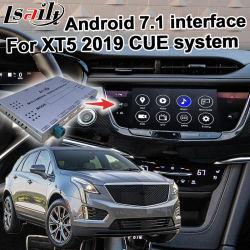 Anroid videoschnittstelle GPS-Navigation für wahlweise freigestelltes Carplay androides Selbststichwort-System Cadillac-Xt5 2019