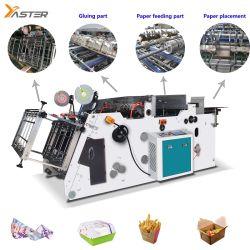 Boîte de recyclage automatique du papier Kraft Food repas jetables boîte en carton<br/> Burger Case rendre meilleur prix de ligne de production de formage Yast-1200D