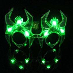 Occhiali da sole infiammanti della bella del partito mascherina unica orribile del ragno per natale/Halloween
