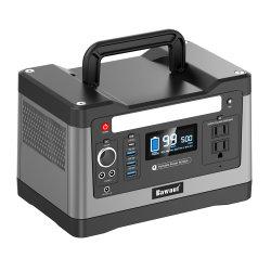 휴대용 전원 스테이션 Solar Generator 500W Pure Sine Wave Output 실외 사용 Solar 충전기와 함께 가정에서 사용하는 응급 공급 장치