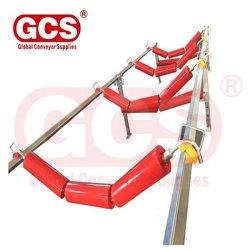 3 рулон с крюком концы опоры маятниковой подвески при выполнении натяжного ролика