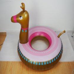 Água de Verão insufláveis Reproduzir Alpaca nadar Ring