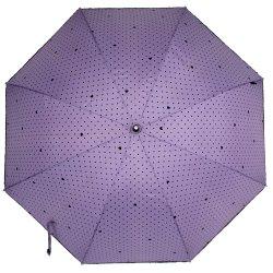 J крюк бамбуковые ручки небьющийся прямой солнце и дождь зонтик для женщин/девочек/леди