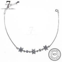 OEM Custom Fashion 925 Silber Schmuck Eisblumen Armband
