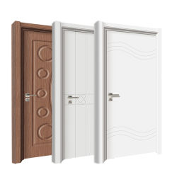 Portelli interni rivestiti laminati PVC del MDF dell'appartamento di stile della Turchia
