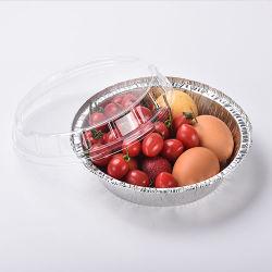뚜껑을%s 가진 식품 포장 알루미늄 호일 콘테이너