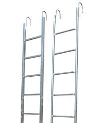 Material de construção Q235 Andaimes Galvanizado/Escada de aço Monkey/Escada/transferir/pé na escada para construção