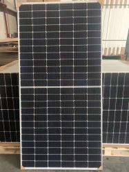 لوحة الطاقة الشمسية Ga Trina Solar PV بقدرة 470 واط Runsol Longi Q Cell JA شبكة نظام الطاقة الشمسية 1500V مزدوجة الزجاج ثنائي الوجه جرينهاوس جزيرة أمريكا اللاتينية في البحر الكاريبي