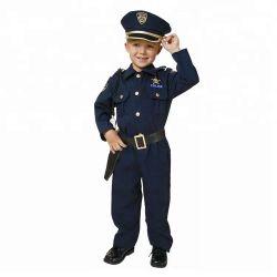 주문 소년 경찰 복장이 획일한 Cosplay 복장 Halloween 경력에 의하여 농담을 한다