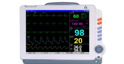 Intensivstation Medizinische Klinik Multi Parameter Intensivstation Handheld EtCO2 tragbar Günstige Kapnographie Krankenwagen Patientenmonitor Am Krankenbett