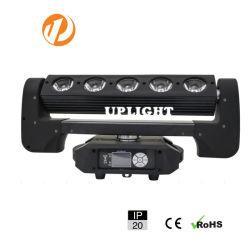 6PCS LED bewegliches Hauptlicht der Wand-Wäsche-RGBW