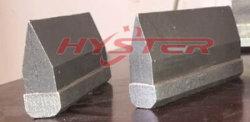 700bhnによって薄板にされる耐久力のある材料の白い鉄の刃物の端