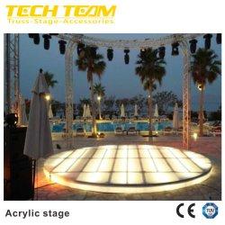 Diseño de triángulo y círculo inteligente forma de escenario para el rendimiento, la exposición Stand, Car Show, boda, evento, fiesta, Clubes Nocturnos, Mostrar el comercio, la escuela actividad