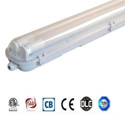 Ce/RoHS/SAA de Verklaarde IP65 Waterdichte Lamp van de Inrichting van het tri-Bewijs 18With36With58W Lichte damp-Strakke