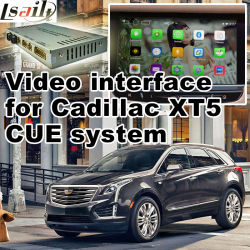 Car Video Interface für Cadillac Cue System ATS Xts Cts Srx Xt5 usw., Android Navigation Rear und 360 Panorama Optional