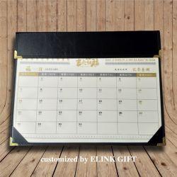 Recepção personalizada Wholesales Notas Horas mês calendário também funcionam como tapete para rato
