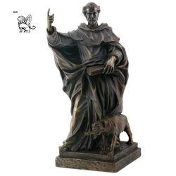 Proveedor de bronce de Gran Precio de la estatua de Santo Domingo decoración exterior BSG-72