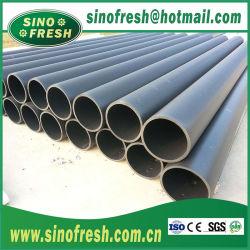 Ficha preta PE100 SDR11 Tubo Plástico Cotovelo T fusão topo a norma DIN SDR Pn8~16 Polietileno de Alta Densidade de HDPE PE tubo para o abastecimento de água e o tubo de drenagem