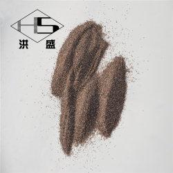 Polvo abrasivo Corindón de color marrón/marrón alúmina fundida/ polvo de óxido de aluminio