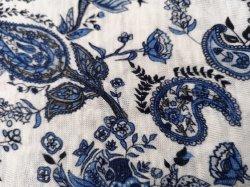 100% лен Printd трикотажные ткани для одежды