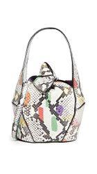 Snake Dama cuero pu Bolso mujer bolsos moda bolso Mini bolso de dama Réplica de bolsos al por mayor en el bolso (Biblioteca Digital Mundial2046)
