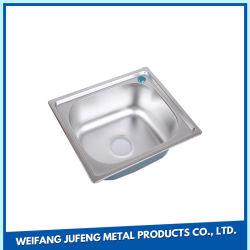 OEM CNC Emboutissage de métal Ustensiles de cuisine seul évier en acier inoxydable