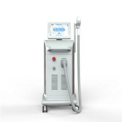 La technologie de pointe épilateur Salon de beauté de l'équipement Alexandrite Enlèvement de la rouille 755nm + 808nm + 1064nm Diode Laser