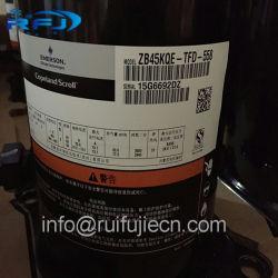 공기조화 Copeland 압축기 Zb 시리즈 일폭 냉각 압축기 Zb45kqe-Tfd-558