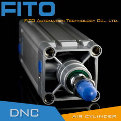 ISO 15552 DNC Festo стандартного пневматического цилиндра/Алюминиевый поршень цилиндра