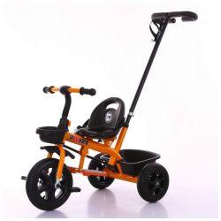 Commerce de gros 3 roues Baby Tricycle avec ceinture de sécurité la barre de poussée