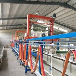 Placage de cuivre de l'électrolyte de la galvanoplastie bain placage semi-automatique de barils de la machine