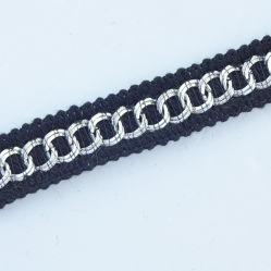 Fraisage de Chaîne en métal d'accessoires de mode à coudre sur bande