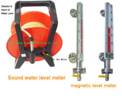Goed diep meter-bi-Kleur de Magnetische Drijvende Meter van de Waterspiegel van de Tank van het Type