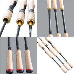 Personnalisés carbone Im8 2PCS La filature de cannes à pêche