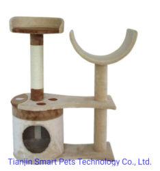 OEM деревянные Pet Cat воспроизведение поцарапать дерево дом