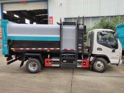 JAC Dongfeng 4X2 automatisierter seitlicher Ladevorrichtungs-Abfall-LKW für Verkauf