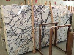 Pedra natural Jade Gelo Purple Jade branco Marble para bancada/Vaidade Topo