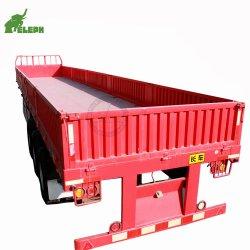 半40feet容器の貨物広く利用されたトラックの側面のトレーラー