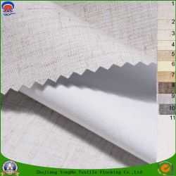 Домашний текстиль покрытие водонепроницаемым светонепроницаемые шторки из тканого полиэфирного волокна ткани