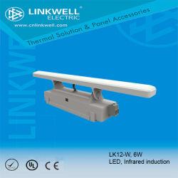에너지 절약, 6W 의 적외선 센서 스위치, Lk12-W를 가진 조명이 잘되는 LED 위원회 램프