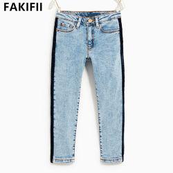 El estilo más reciente de alta calidad OEM ODM/ Niños Niños de prendas de vestir pantalones vaqueros algodón