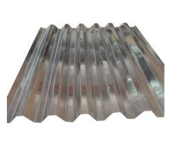 건축 자재 ISO 인증서 고온 담금 갈반형 골판형 강철 아연 코팅 금속 지붕 시트