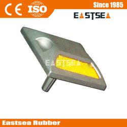 Aluminium Raised réfléchissant 43 perles de verre solaire Road Stud
